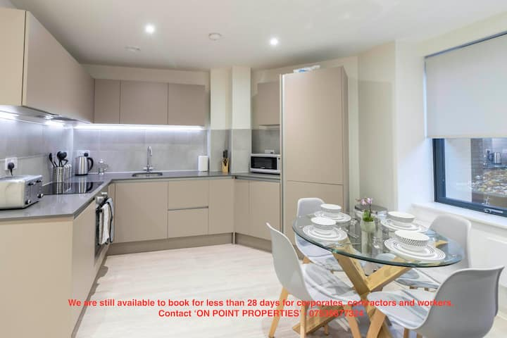 OPP Apartments - Gym, parking, Exeter City Centre