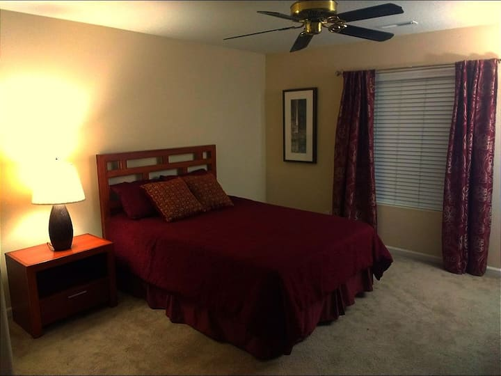 Comfort and Class Bedroom at Fircrest Estates