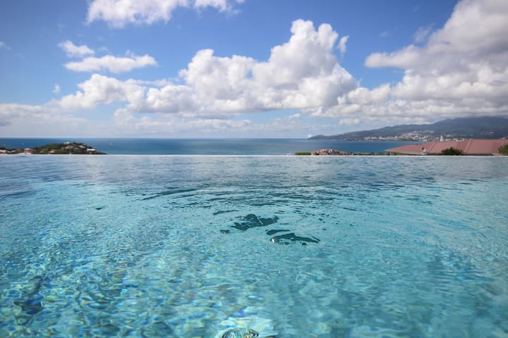 Villa de rêve design 4 chambres, piscine vue mer