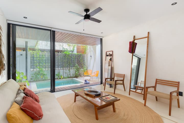 1BD 3PAX BRAND NEW IN TULUM'S BEST AREA! + GYM 102