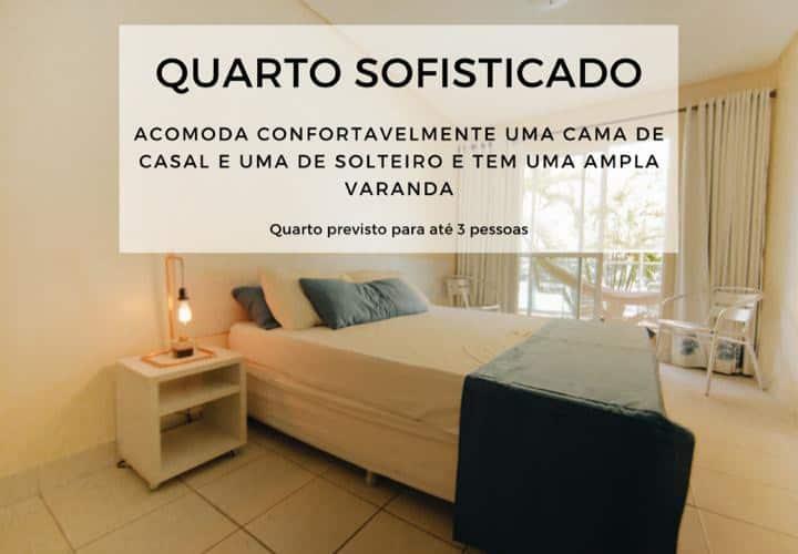 Agua Viva Flat/Pousada -  Apartamento Sofisticado.