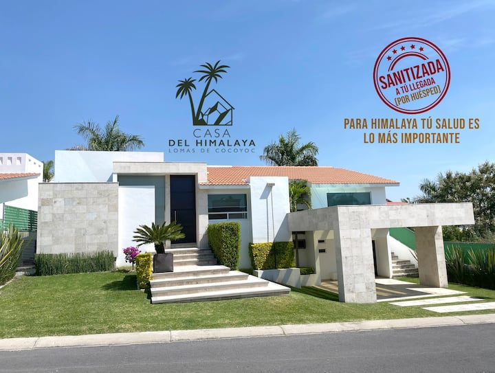 HIMALAYA TU CASA DE DESCANSO en Lomas de Cocoyoc
