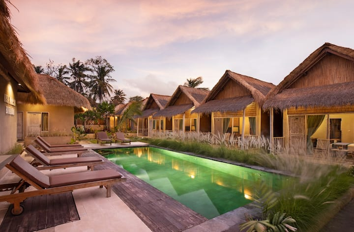 Affordable Deluxe Room in Nusa Penida - Room Only