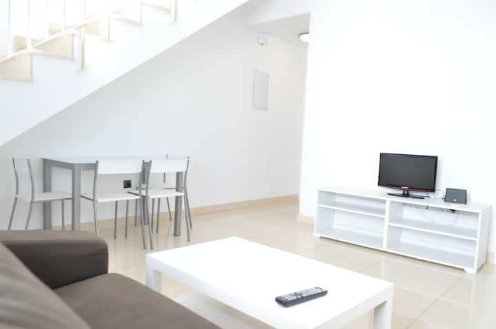 Apartamento céntrico con terraza
