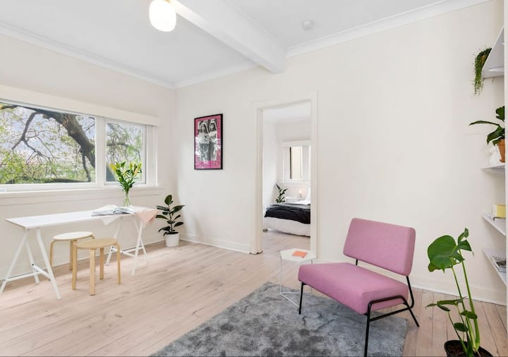 South Yarra Art Deco Stunner! *Private Room*