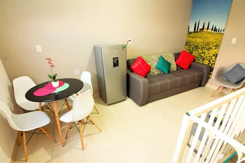 New & spacious apartment near Grutas de Tolantongo