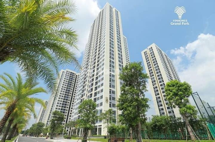 Cho thuê căn hộ Studio cao cấp Vinhomes Grand Park