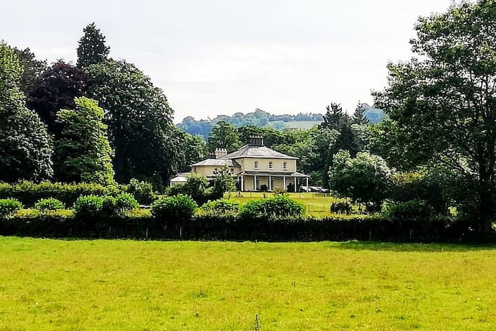 Self-contained suite in Country House Crickhowell