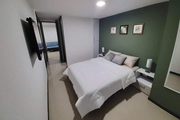 Hermoso y acogedor apartamento amoblado en Niquía