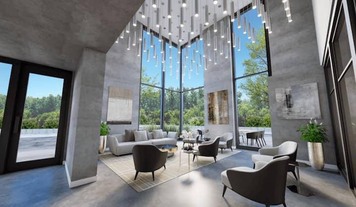 Corporate Stays | Stradbrook | New 1 BR Apartment