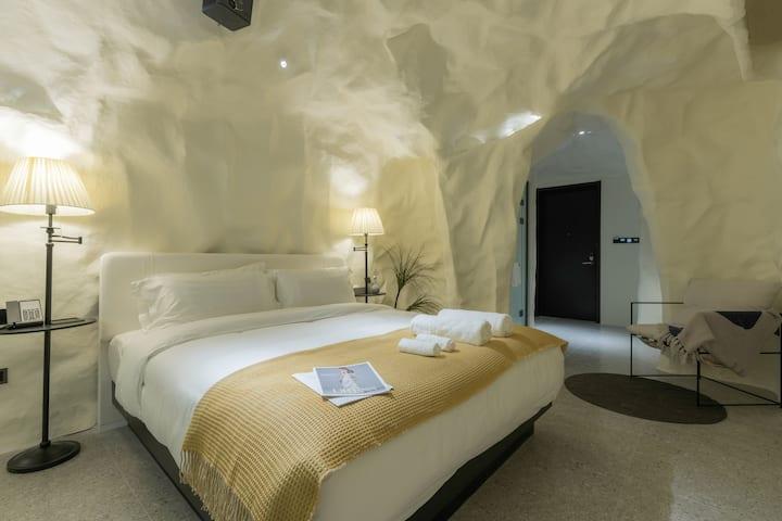 |-醒山纪·科迪勒拉溶洞房-|设计师酒店/网红打卡/五一商圈/烈士公园/赠睡前酒-微醺而眠