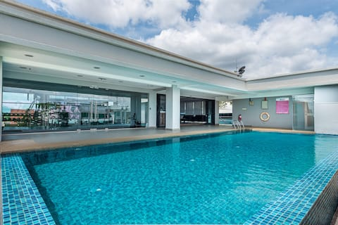 8500SF,  16P ,4R5B , SKYSTAY With PRIVATE POOL