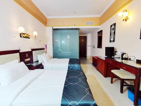 下川岛桂园酒店标准双人房(离沙滩约200米)