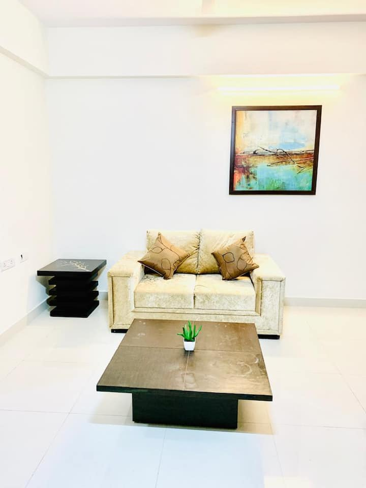1 BHK Service apartment near Sakra World Hospital