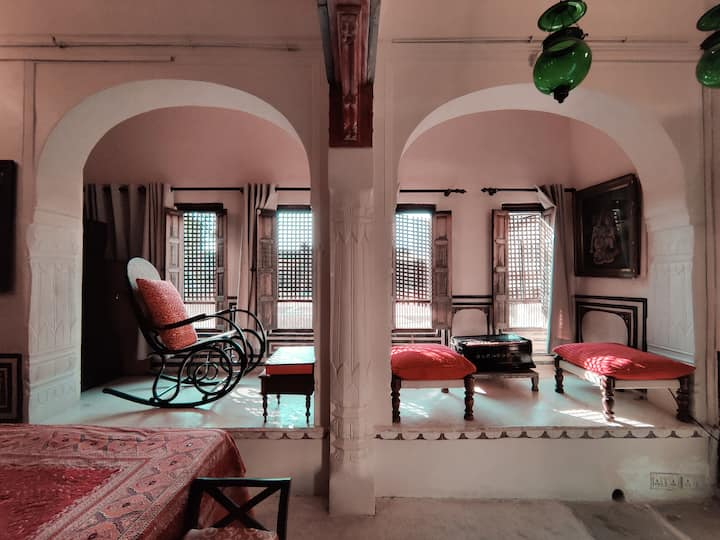 Suite In An Authentic Haveli | All Meals Included!