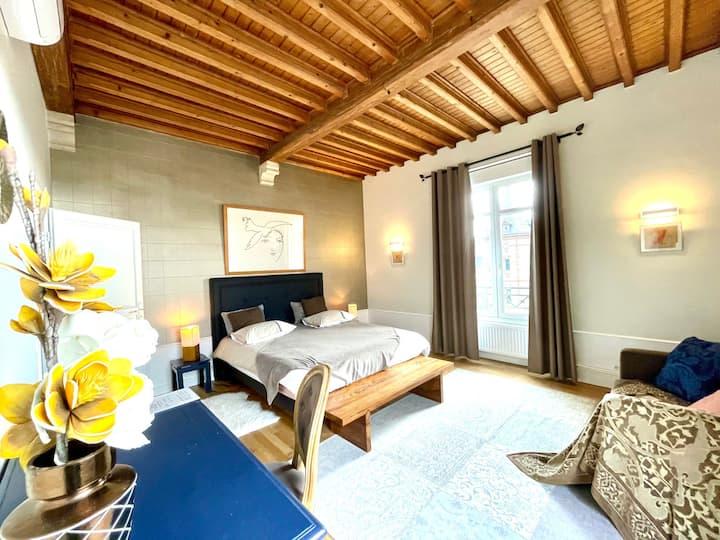 Appartement 7 personnes au coeur de Chartres