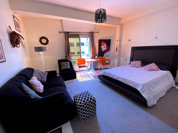 Cozy studio with an artistic touch - Rabat