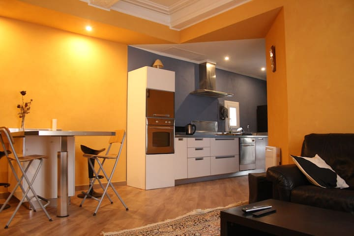 Apartment Le Nabucco - F3 - 68m² in downtown