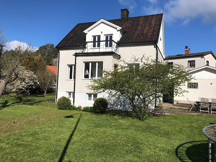 Beautifull villa in the heart of Nynäshamn