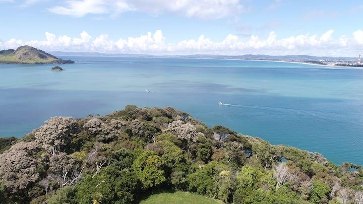 Taurikura Peninsula Seaview Private Hilltop House