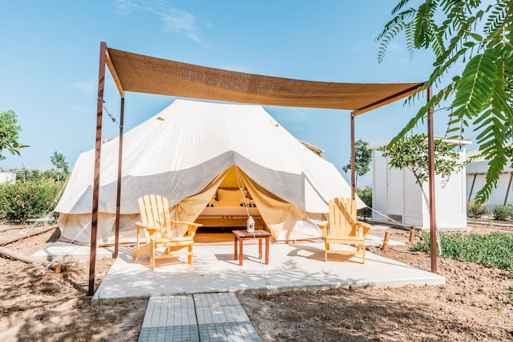 ||SAILS ON KOS|| Bell Tent *Free Breakfast*