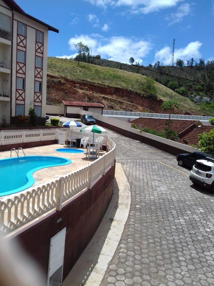 Apartamento conforto em Aguas de Lindoia