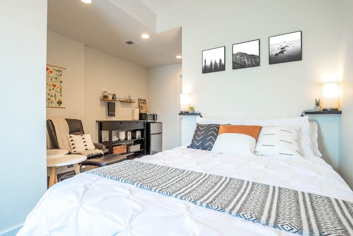 Modern Studio in New Townhome w/ Private Entrance!
