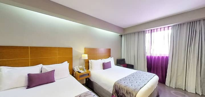 Deluxe Dbl.>1 Bfast Incl>Fast Wifi>Rm Svc>Parking