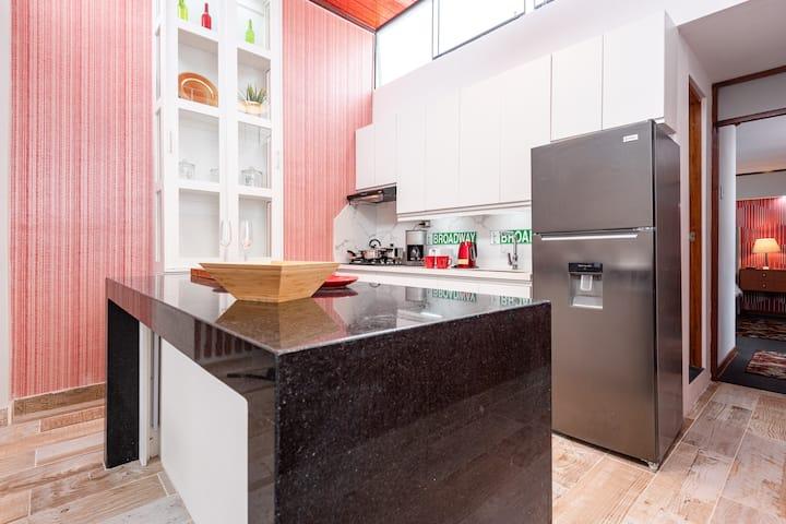 Loft  apartment in SURCO & GYM & terrace 25 mts