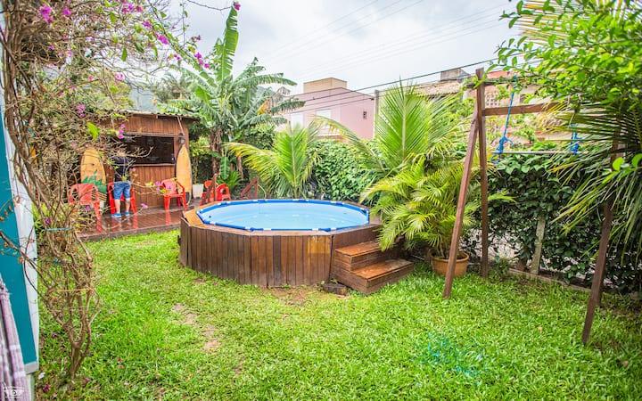 Suíte mista compartilhada Hostel na Lagoa 6
