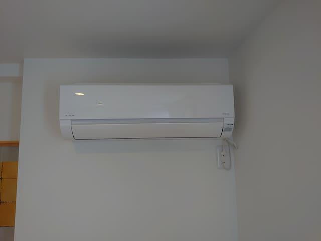 全室最新型エアコン完備