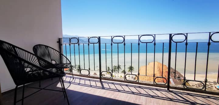 PV  Beach front condo, ask for special month rates