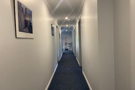 Very wide hall access.