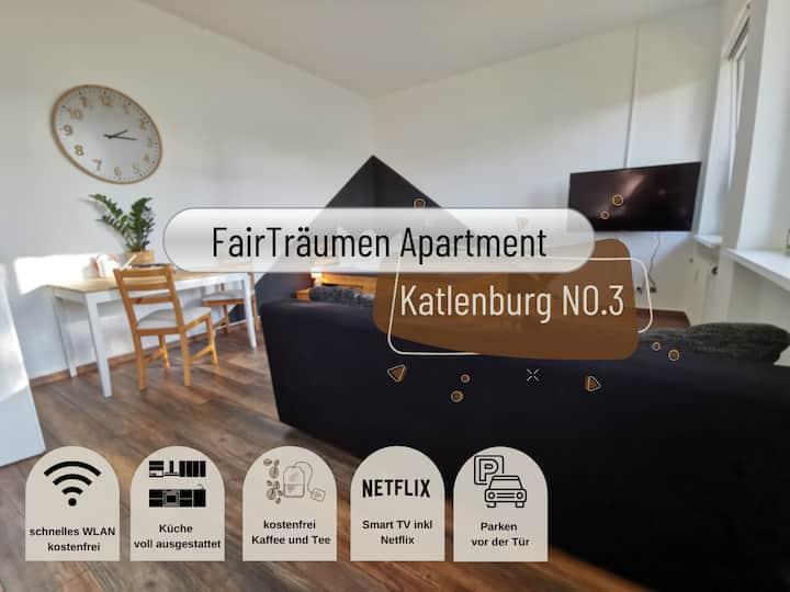 FairTräumen helles & ruhiges Studio inkl. Netflix