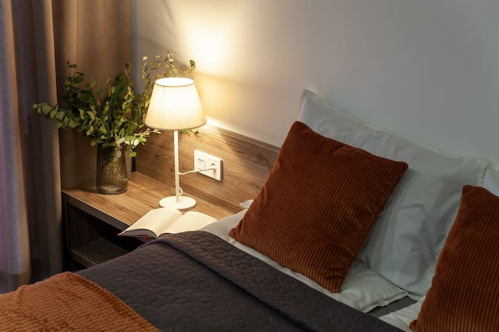 Сozy and comfortable bedroom