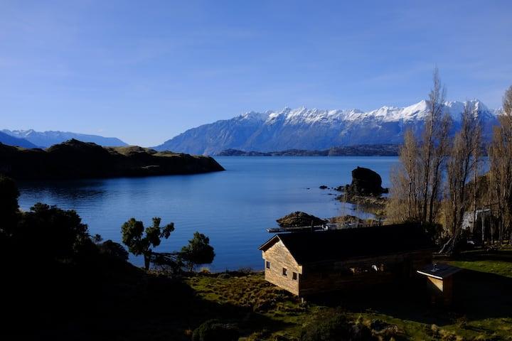 Isla Macias - Cabaña con vista al lago