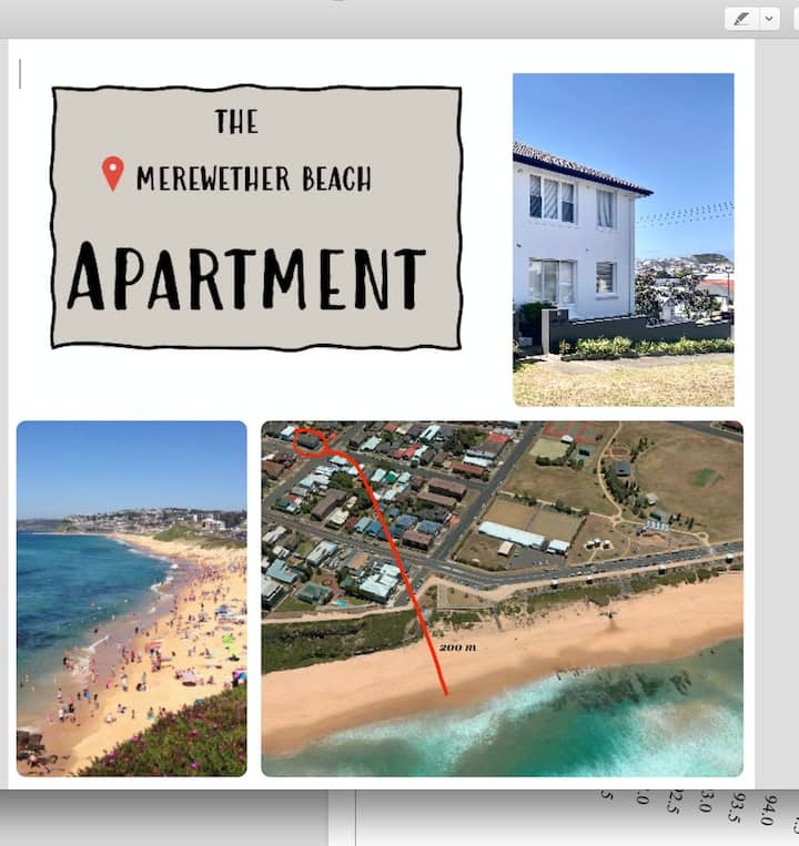 Merewether Beach Apartment