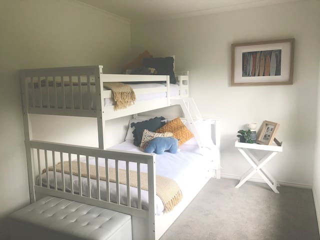 Bed 3 - Double bunks and trundle