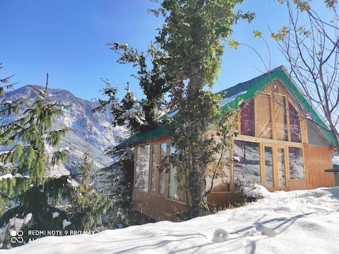 Sunny Treehouse With Valley View|350m trek