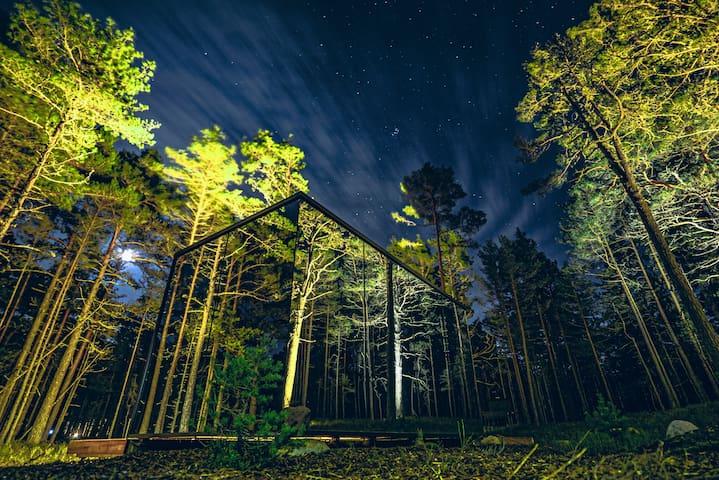 ÖÖD Hötels Rooslepa - in fairytale forest - Room#1