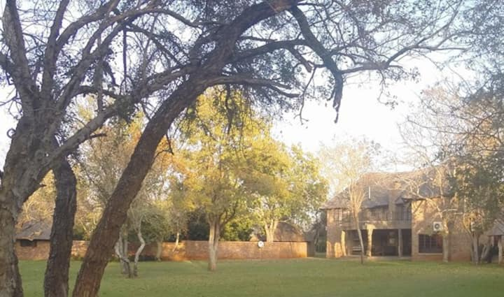 Zelati Villa, luxury in a Big 5 Game Reserve
