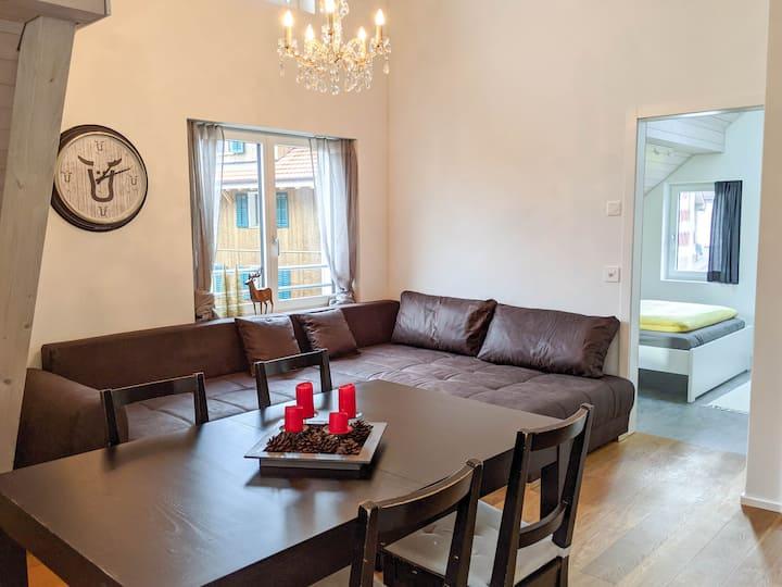 Moderne Wohnung am Fusse des Pilatus | Alpnachstad