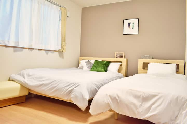 ★New★Furano area★Free car-parking★Up to 7 ppl!!