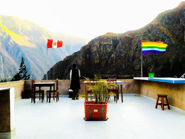 casa de campo+vistas ala montaña +terraza BBB