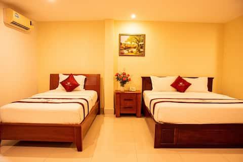 Phòng Twin - bao gồm ăn sáng-khách sạn Sông Tiền