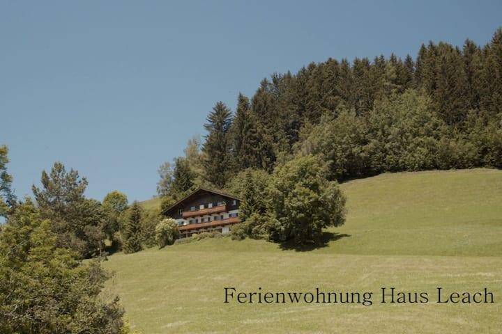 Ruhe finden - Ferienwohnung Haus Leach Pill Tirol