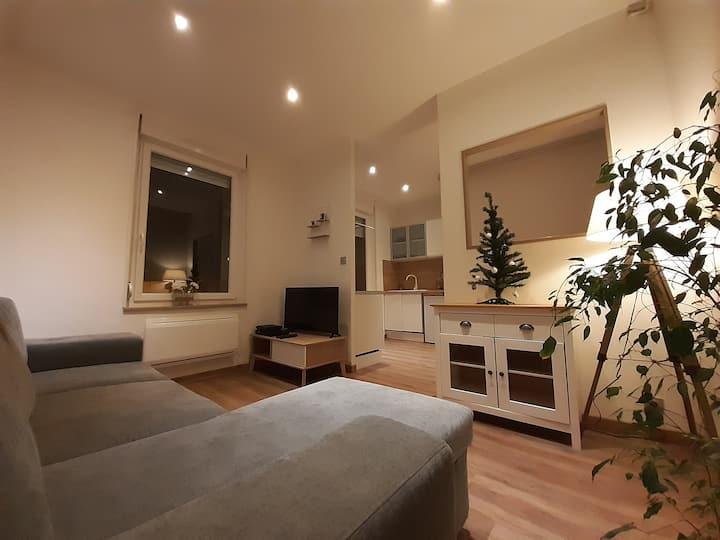 Maison moderne et lumineuse