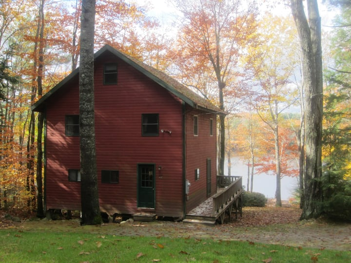 Outdoor living at its finest, McWain Pond Cabin
