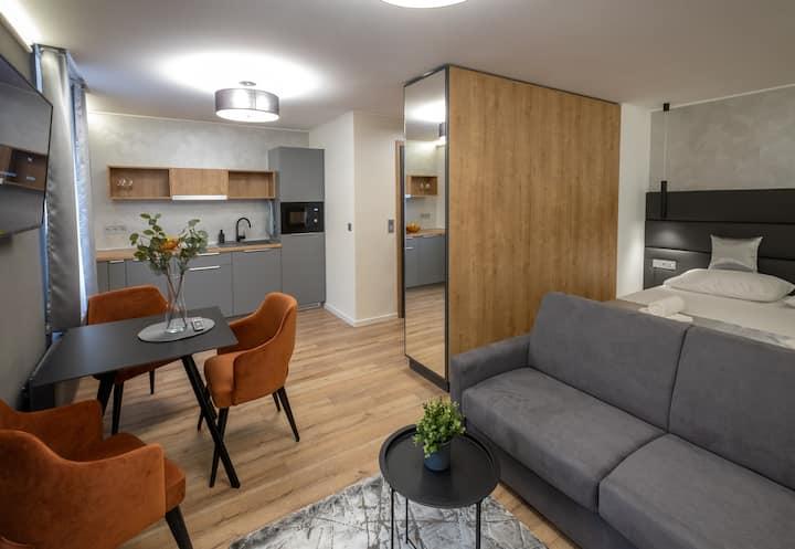 Minaret Residence - Studio apartment twin