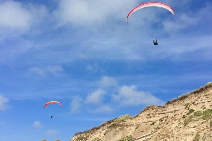 Skøn ferielejlighed med udsigt til Vesterhavet